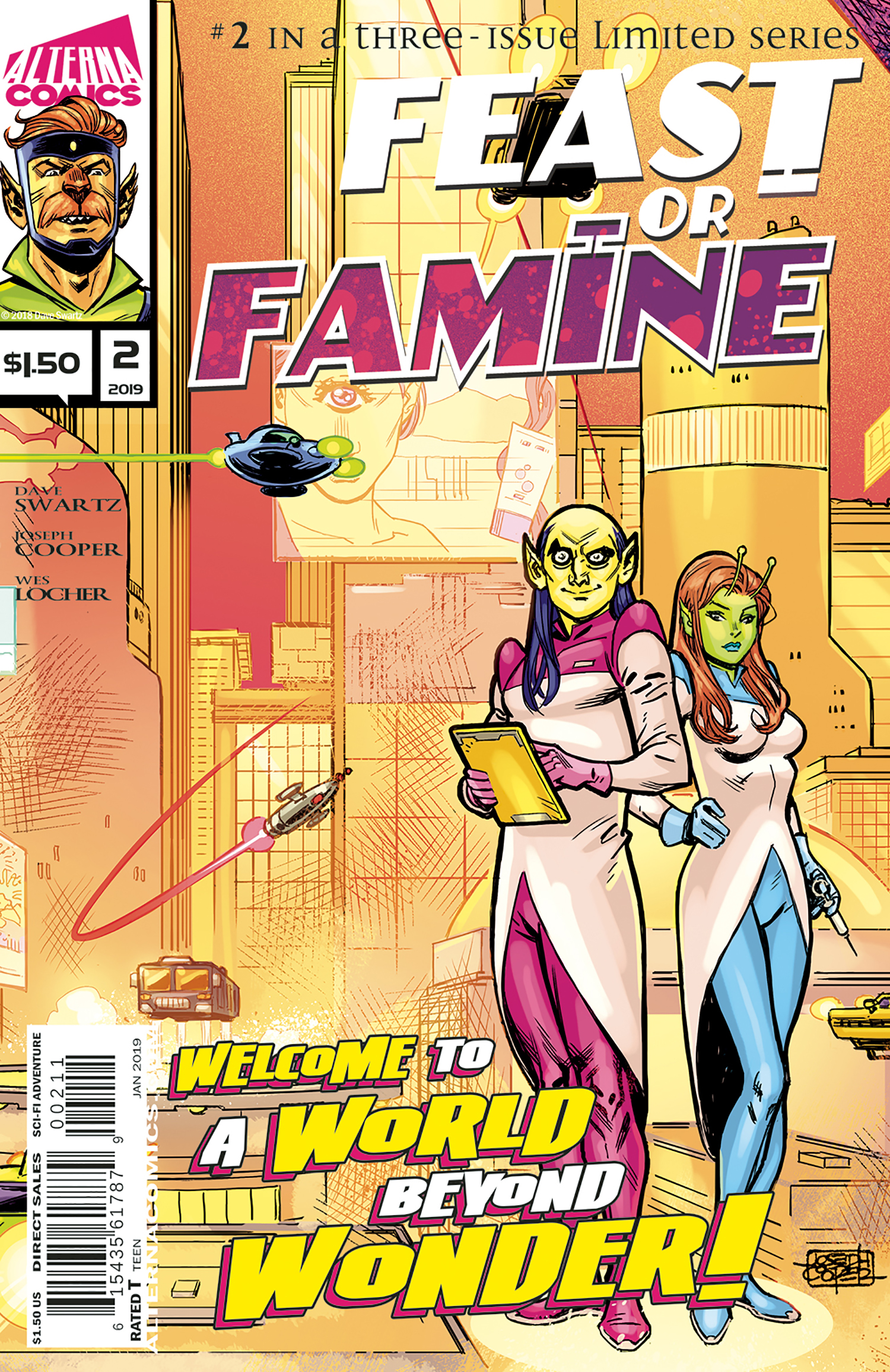 FEAST OR FAMINE #2 - Feast or Famine Comic Book