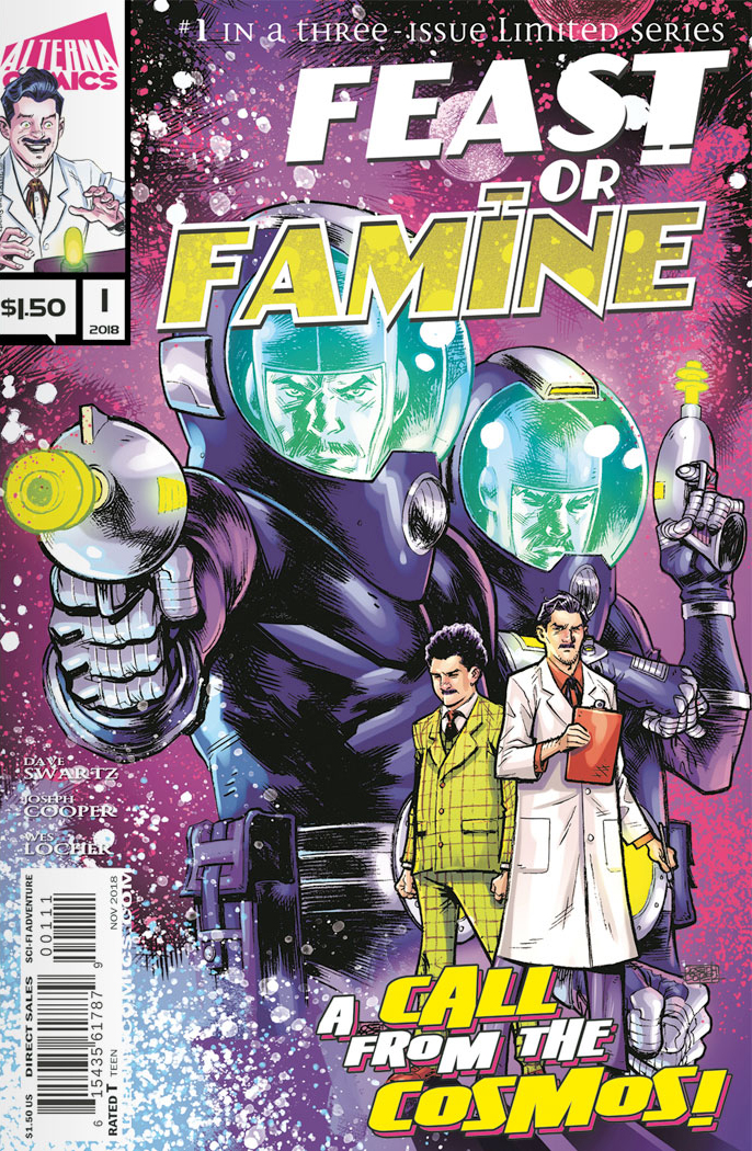 Feast or Famine Issue #1 Alterna Comics - Feast or Famine Comic Book