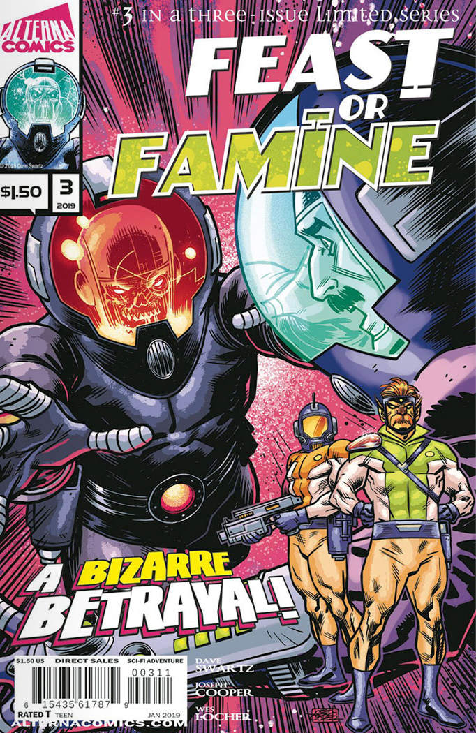 Feast or Famine Issue #3 Alterna Comics - Feast or Famine Comic Book