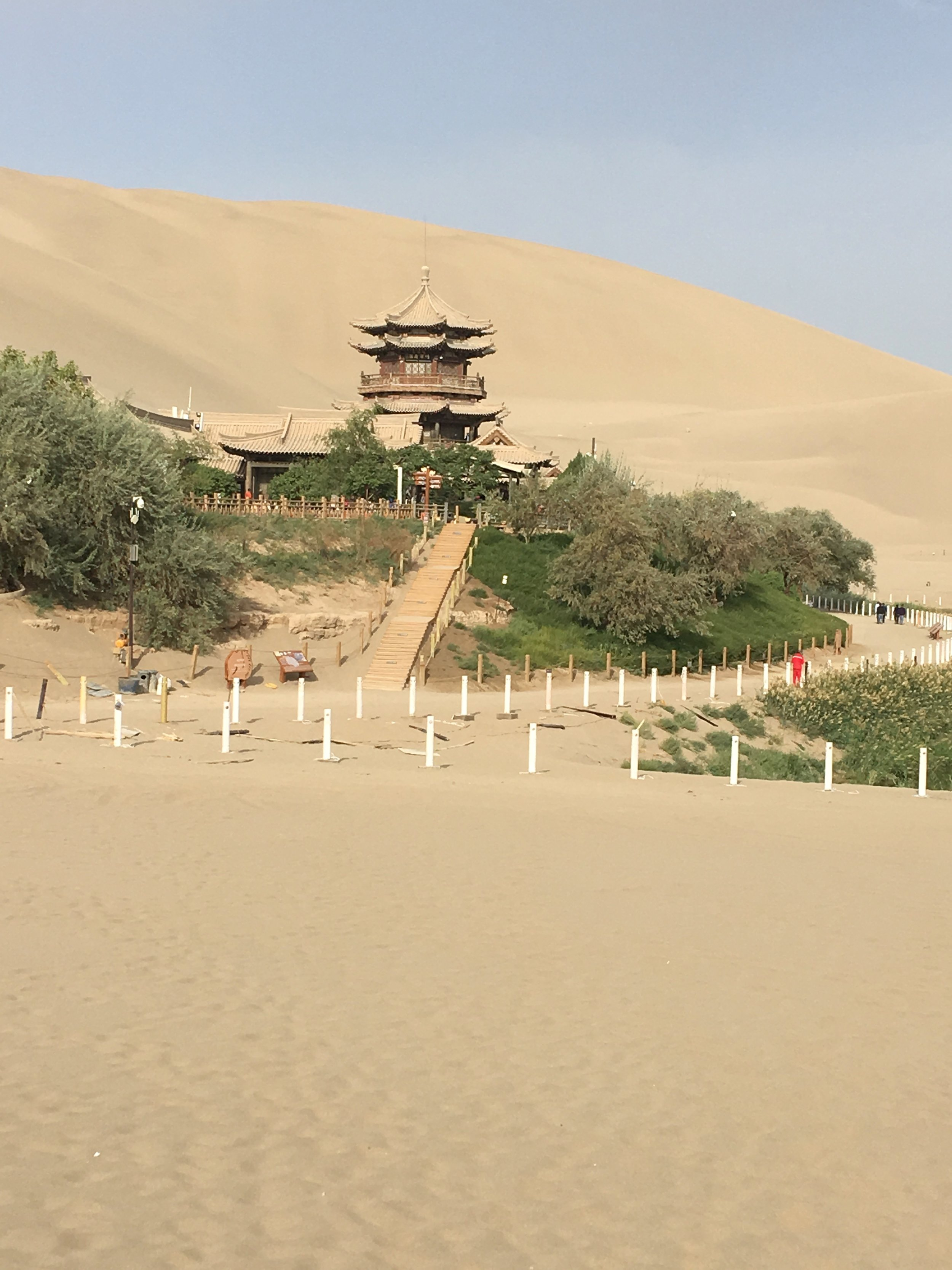 Pagoda in the Dunes -