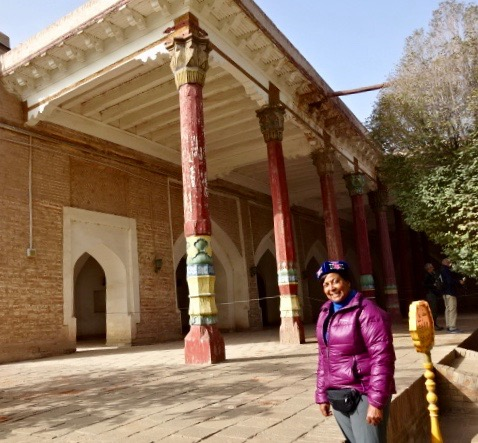 Kashgar famous oasis on the Silk Road -