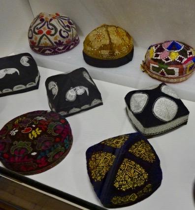 Qighur traditional hats -