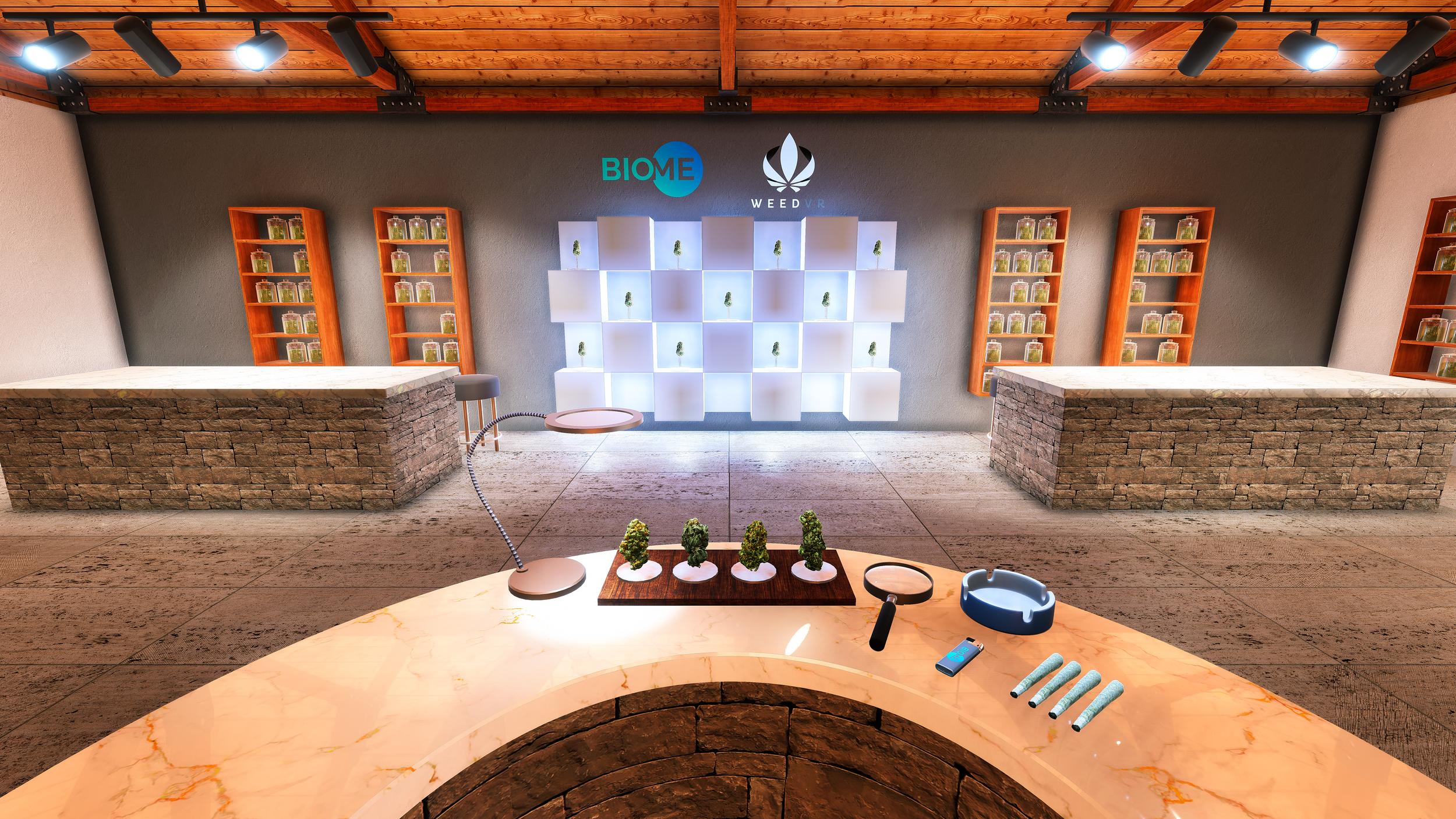 Weed Virtual Retail Desk