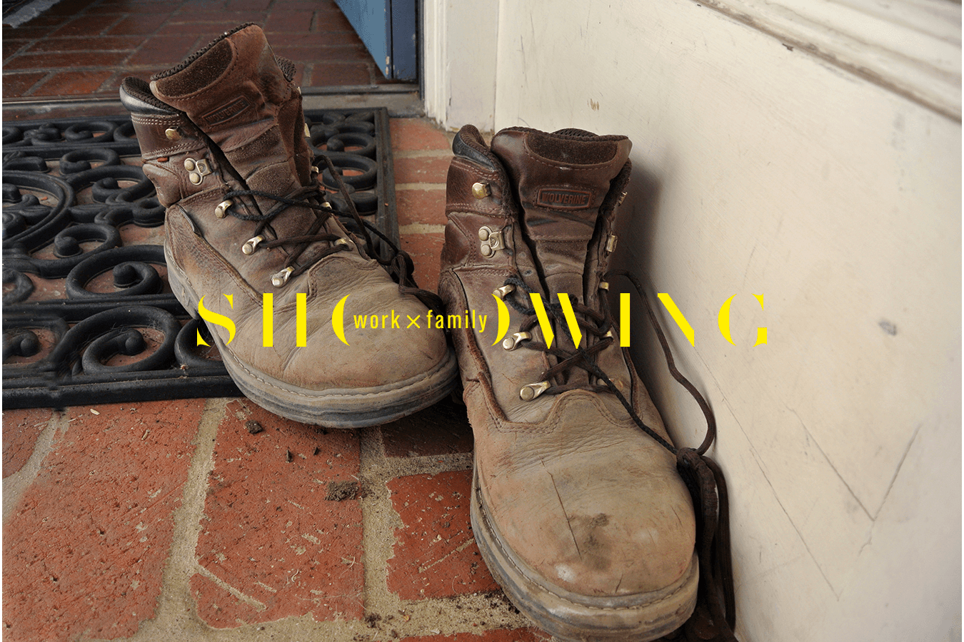 """My father's tools, including his boots, allow us to live as comfortably as we do. He's so exhausted at the end of his work day, he just kicks them off and leaves them on the porch.""  © 2013 Sophia Bilbao,  wrkxfmly  Assignment, Berkeley High School, Berkeley, CA"