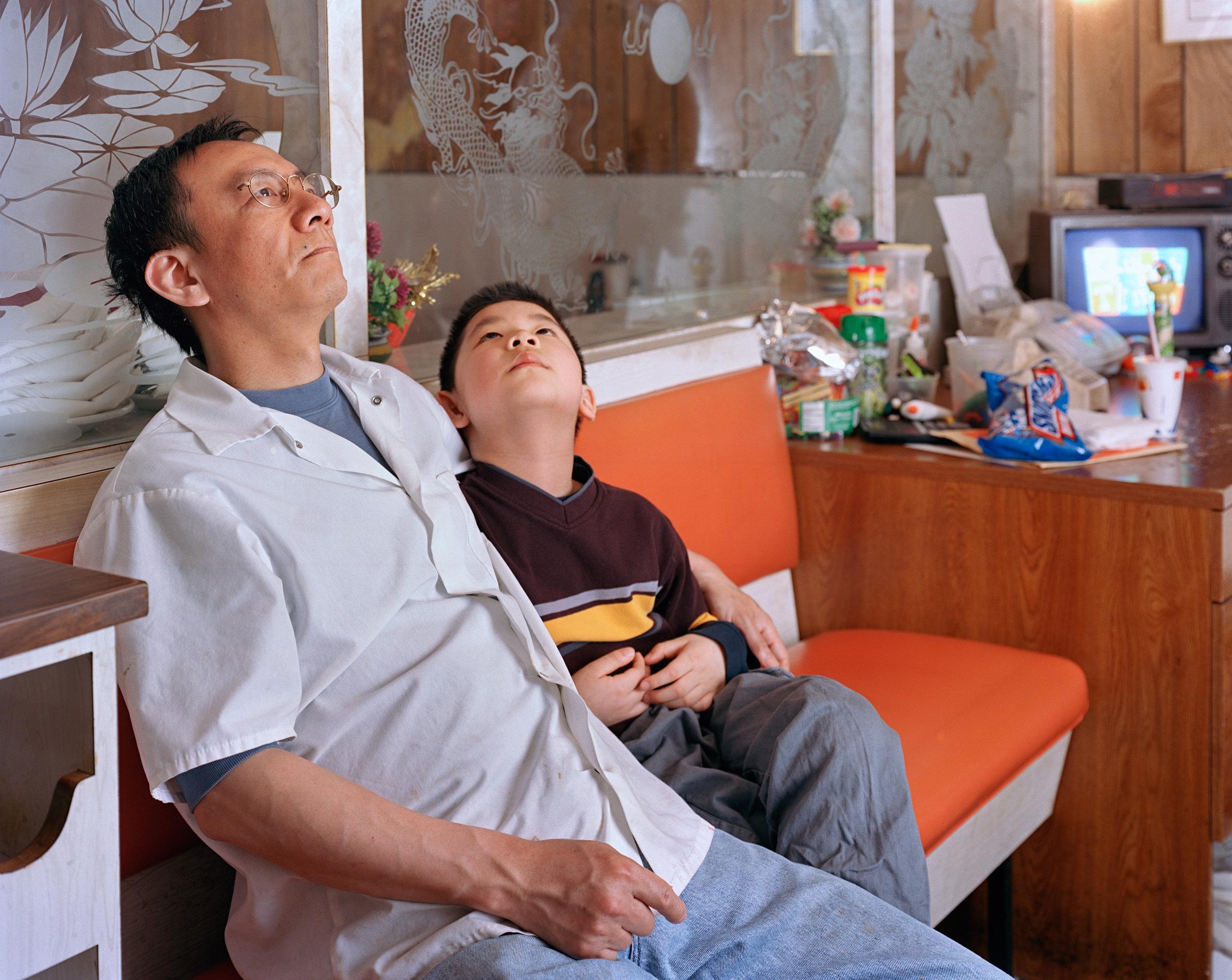 Untitled  (Father and Son)  © 2003 Ka-Man Tse