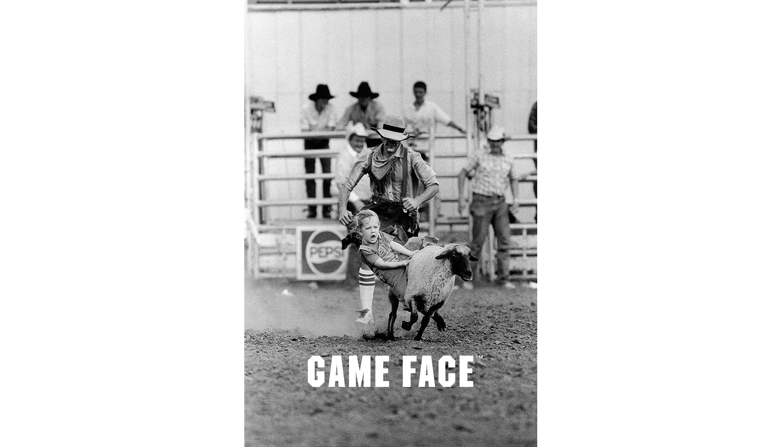 Mutton Busting, Crawford County Fairgrounds  © 1987 Raymond L. Brecheisen,  Morning Sun
