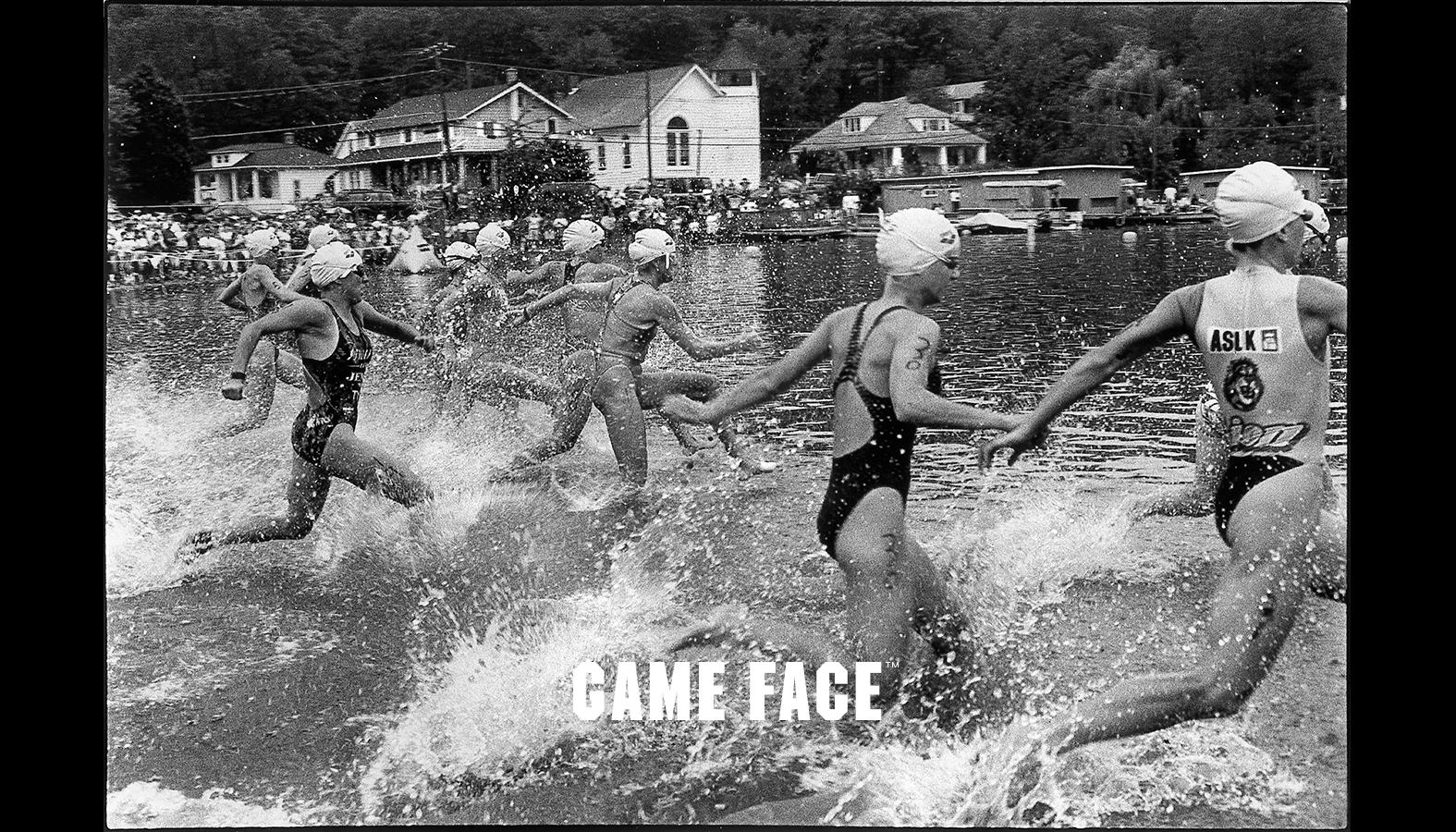 Triathlon Start  © 1994 Mark Cohen