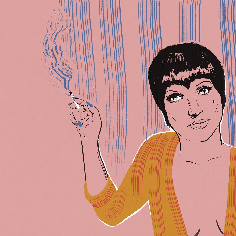 Liza Minnelli in Cabaret by   Sam Russell Walker