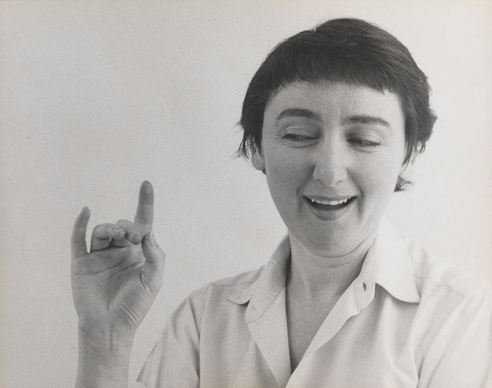 Daisy Aldan (1955)© Peter Hujar Archive, LLC, courtesy Pace/MacGill Gallery, New York and Fraenkel Gallery,San Francisco