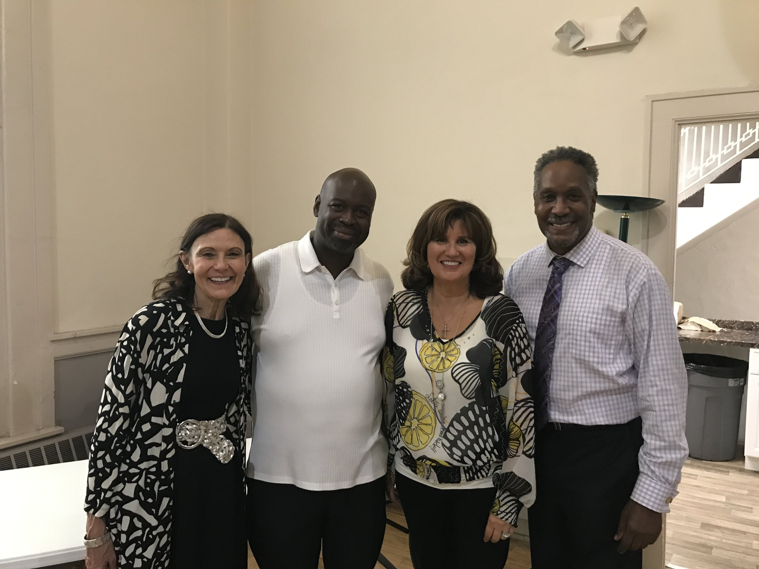 Pastor Billy McClinton, Lonnie, K and D.JPG