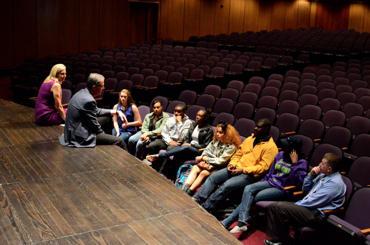 Paul-Cummings-Speaking-With-Students