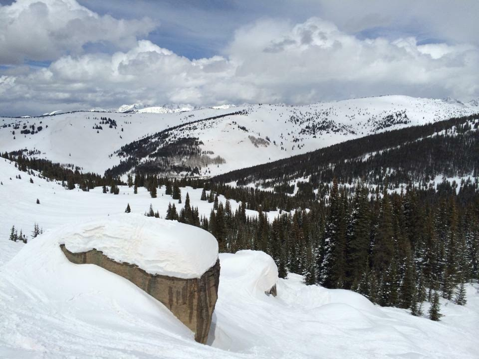 Lovers Leap run in Vail
