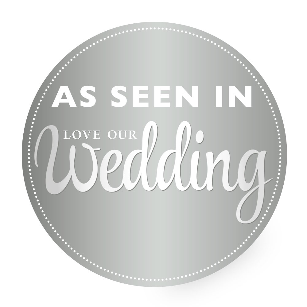 As Seen in Love Our Wedding Mag