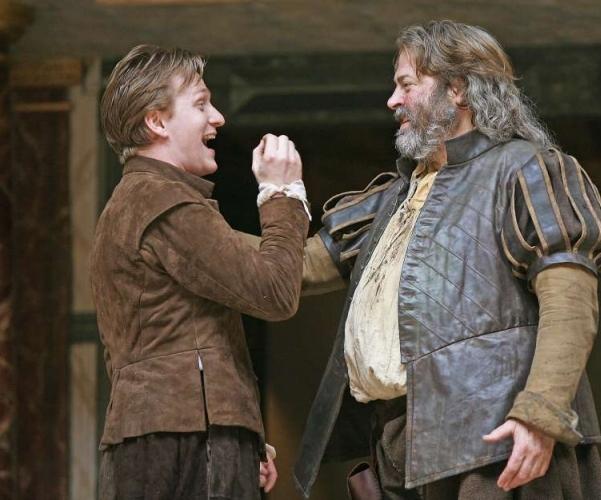 Jamie Parker & Roger Allam in The Globe's  Henry IV, Part 1  (2010)