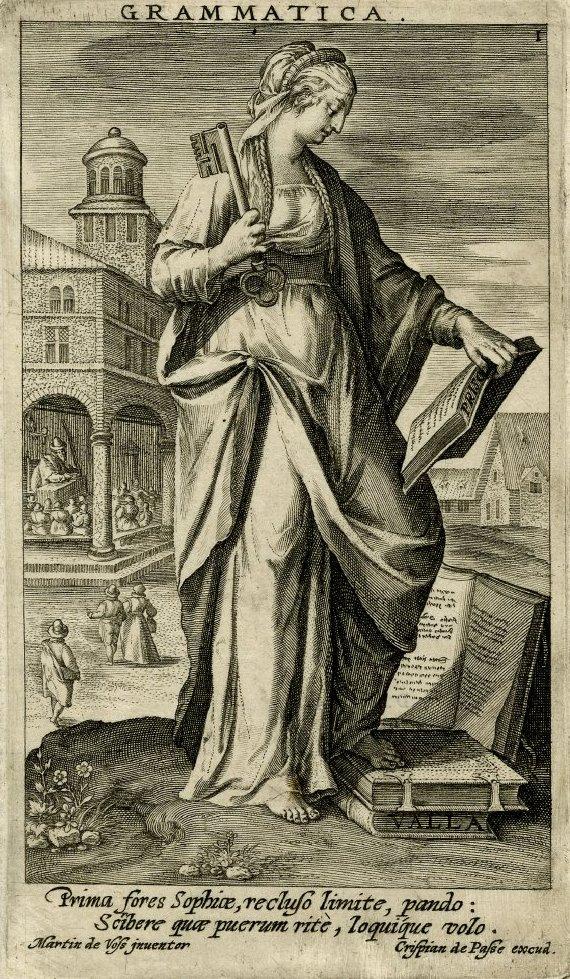 De Vos  Grammatica  (1603)