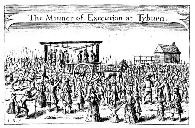 """The Manner of Execution at Tyburn"" (16th C.)"