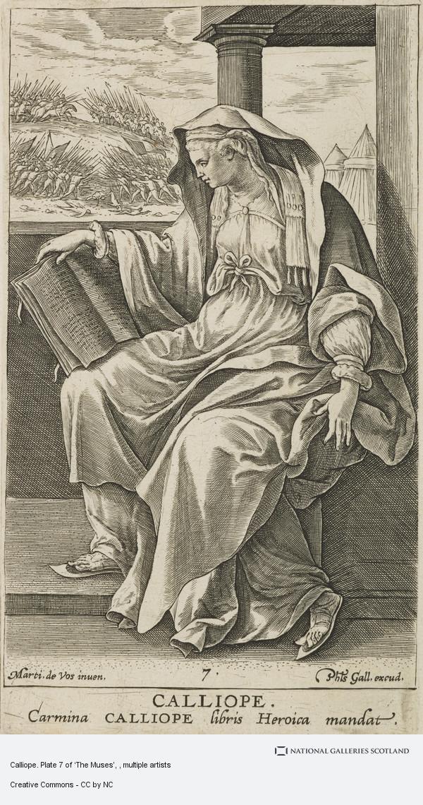 De Vos  Calliope  (1603)
