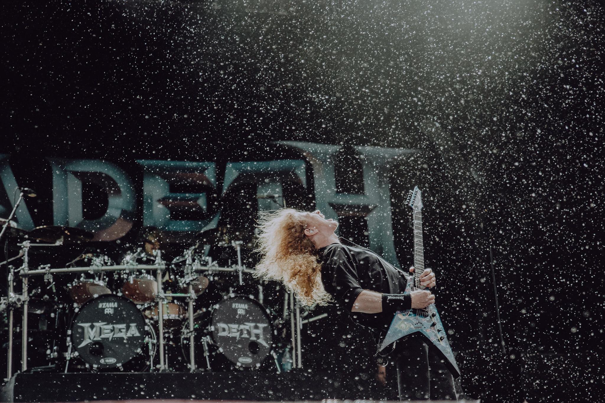 Dave Mustaine // Megadeth // Montebello Rockfest // Montebello, QC