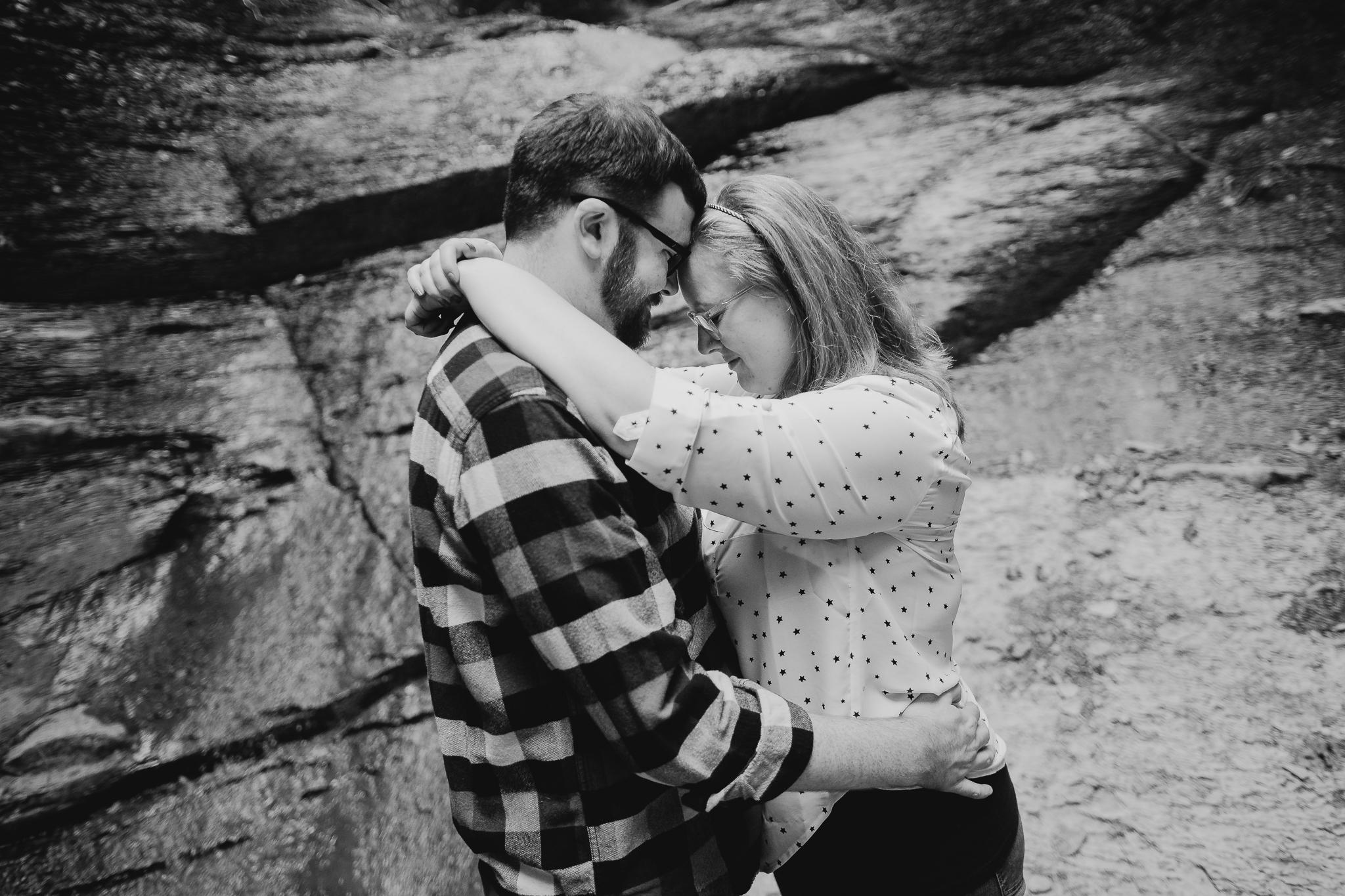 Kathy and Drew engagement shoot // Canandaigua, NY