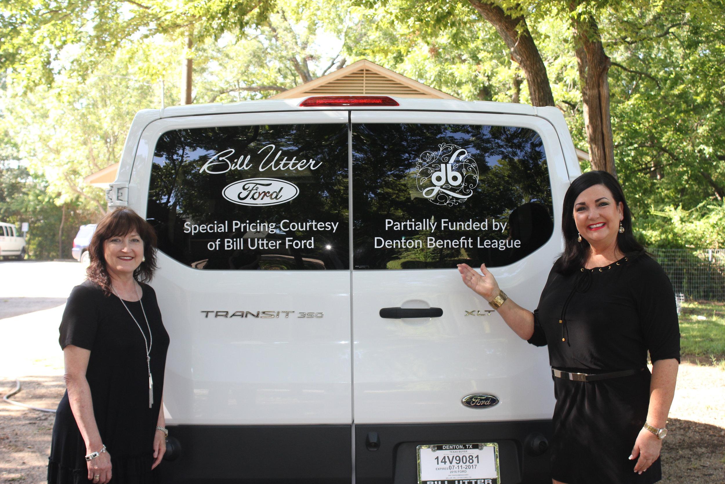 Denton Benefit League Grant Allocations Chair 2017-2018 Sandra Robinson & Denton Benefit League President 2017-2018 Terri Guthrie