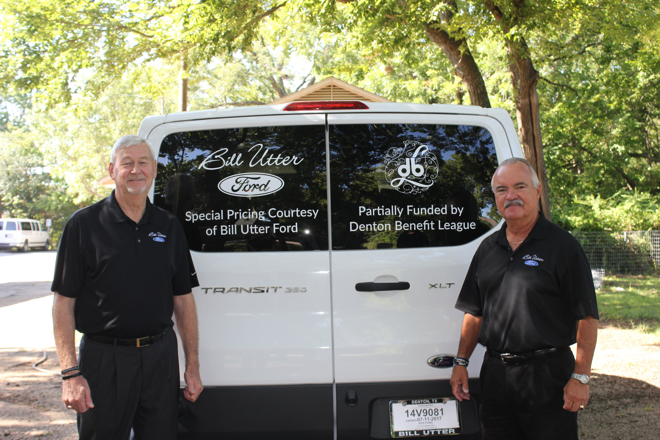 Bill Utter Ford Sales Person Doyle Chaffin &Bill Utter Ford General Sales Manager Carl Anderson