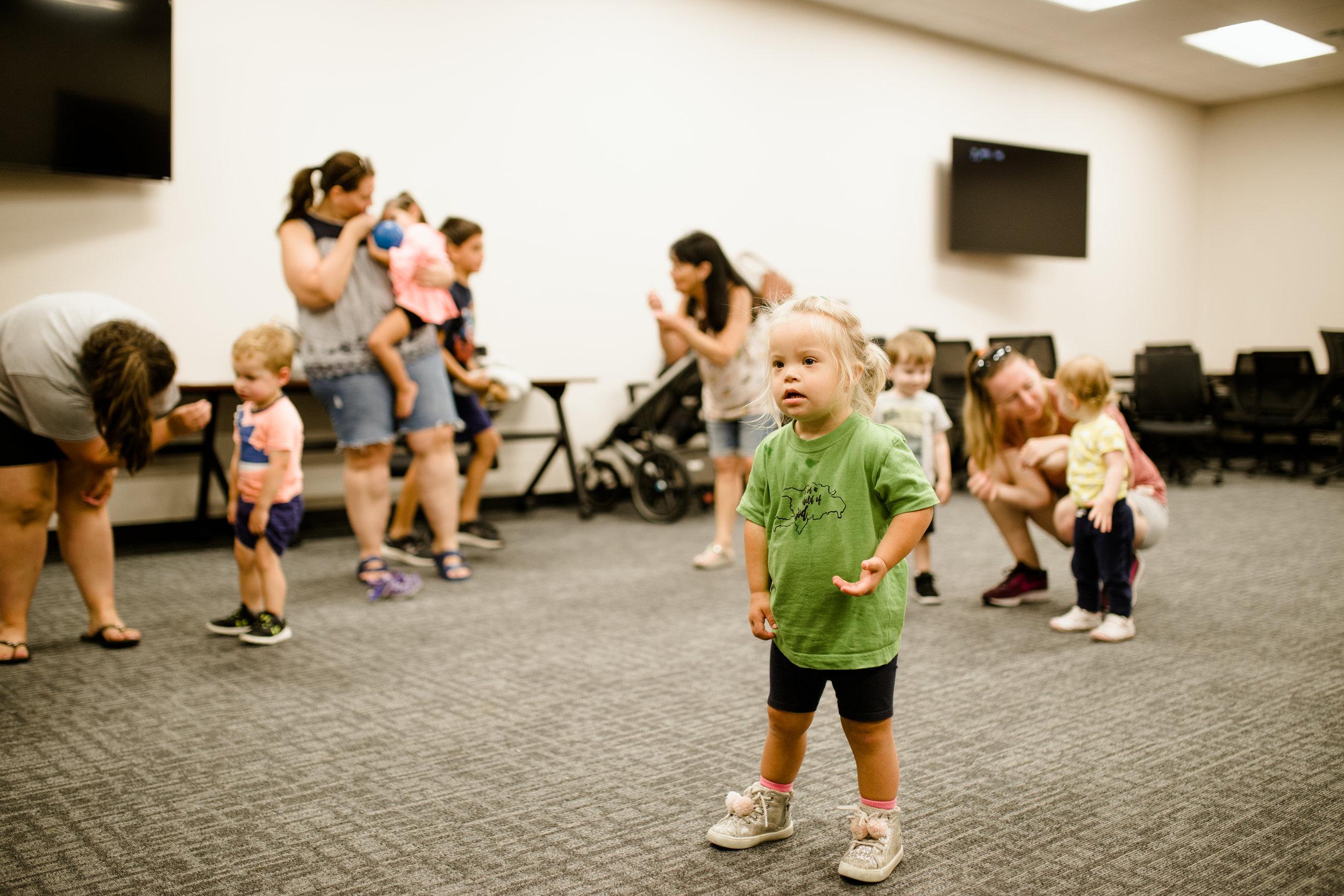 MHMR Children with Developmental Delays Serve Denton