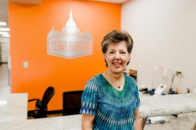 """""""A few years ago, when I first heard Pat Smith speak about Serve Denton and it's vision of working with nonprofits that are helping people in our community to get back on their feet and become self-sufficient, I knew this was a cause that I wanted to support.⠀ .⠀ It was easy to get set up as a financial supporter (even a small amount can make a difference), and I enjoy receiving the regular and informative newsletters.⠀ .⠀ I like the concept of """"one-stop shopping"""" for the social services that so many people need, and I am proud to support this organization that has so many leaders who are dedicated and passionate about providing this kind of help.""""⠀ .⠀ — Emily Seiple, a monthly supporter of Serve Denton.⠀ .⠀ @NTxGivingDay is one month from today on Sept. 19. Thank you for your support!⠀ .⠀ #WhyISupportServeDenton #WhyIGive"""""""