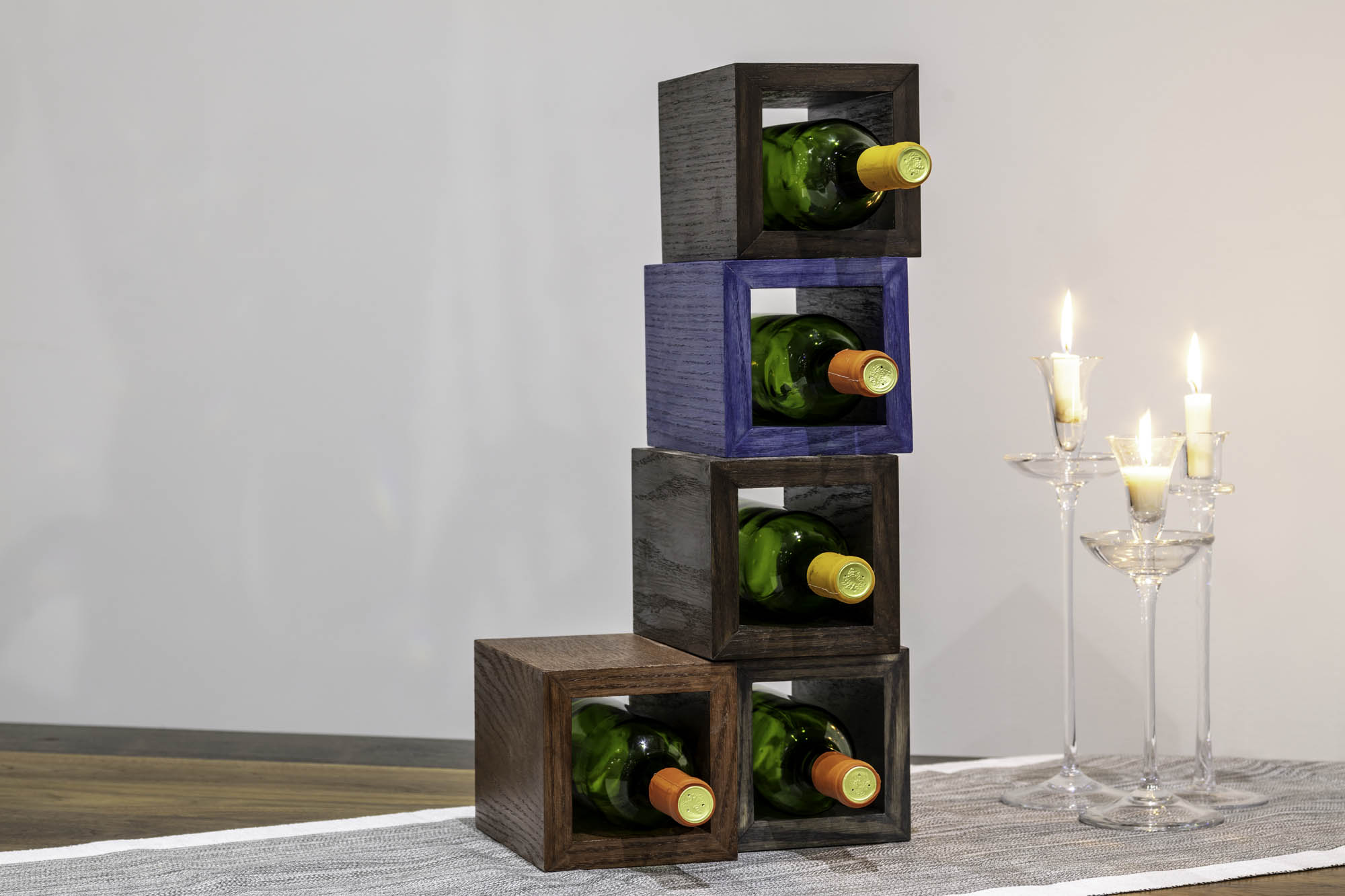 Cubism on The Table Wine Storage