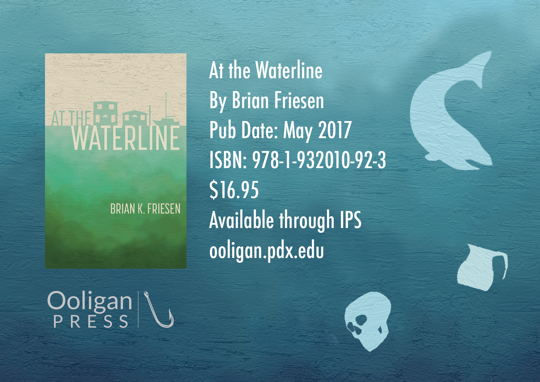 POSTCARD FOR AT THE WATERLINE
