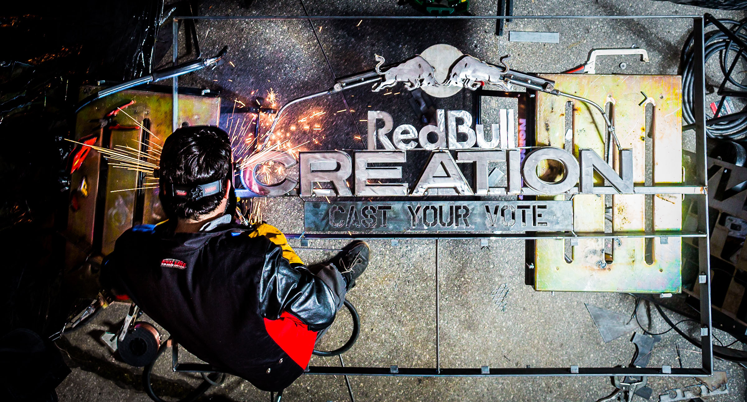 RedBull Creation Design/Build Competition. Williamsburg NY