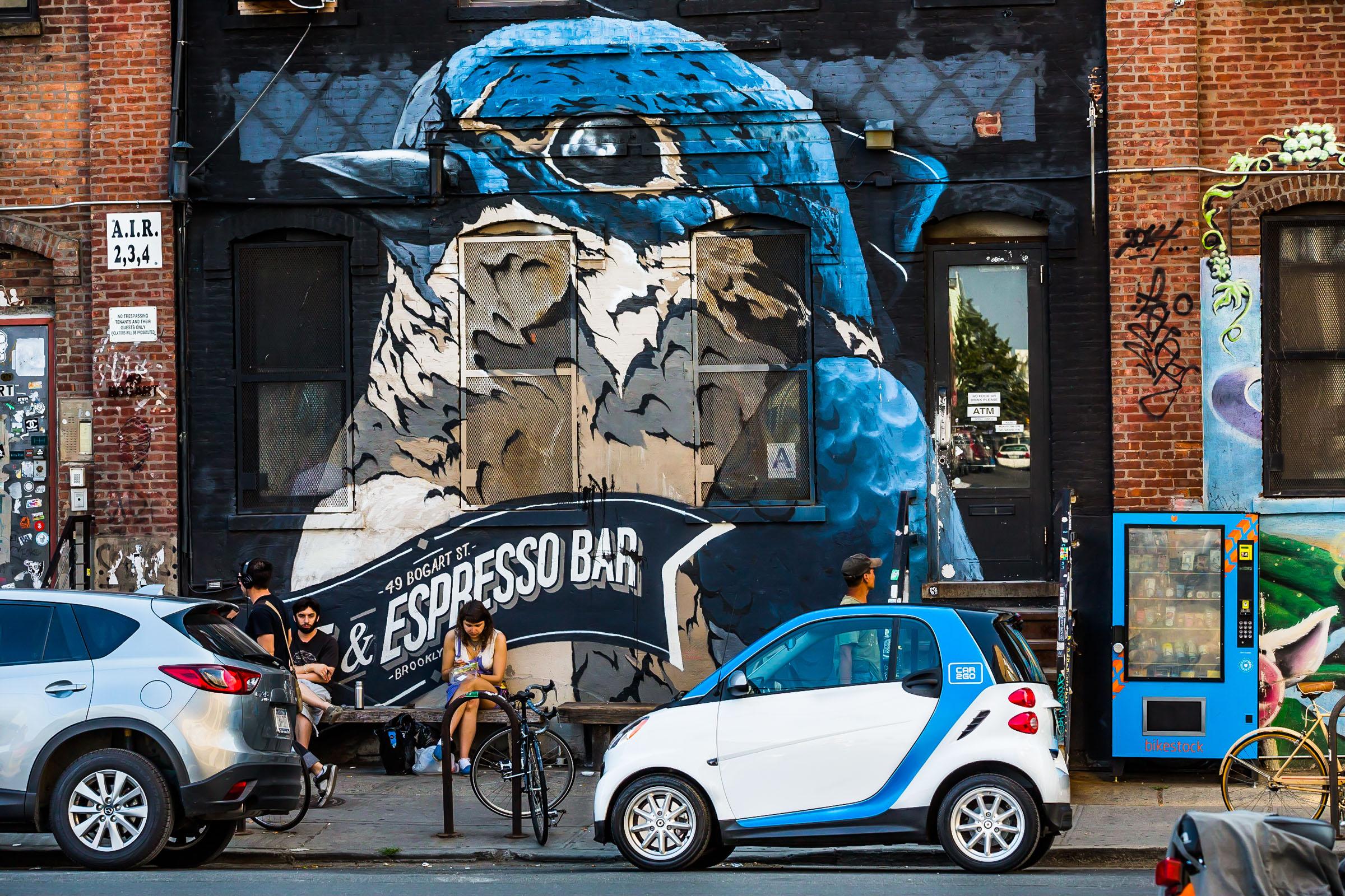 Car2go local marketing campaign. Brooklyn, NY