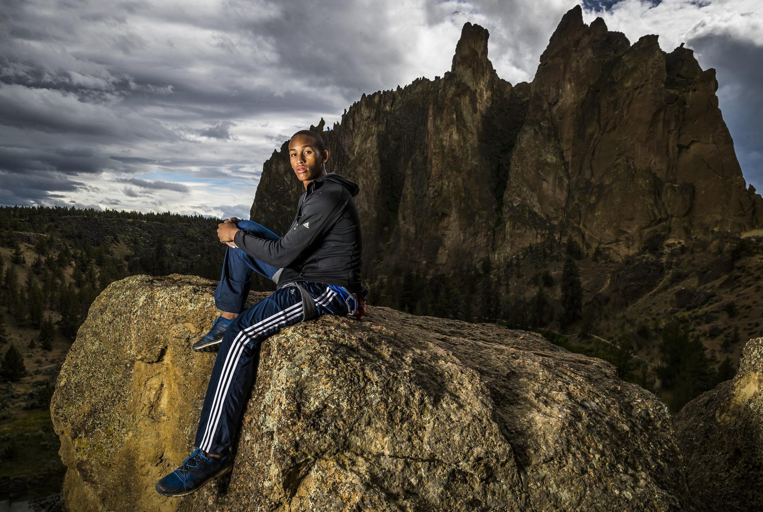 Kai Lightner. Smith Rocks, OR