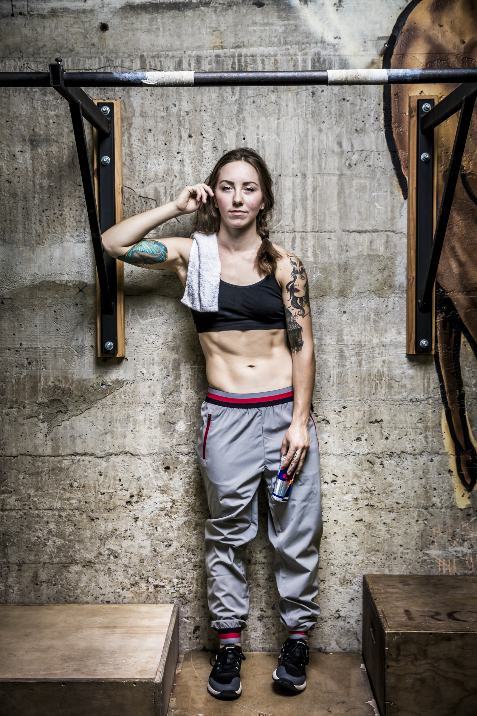 Loren Mutch RedBull athlete portrait. Portland, OR