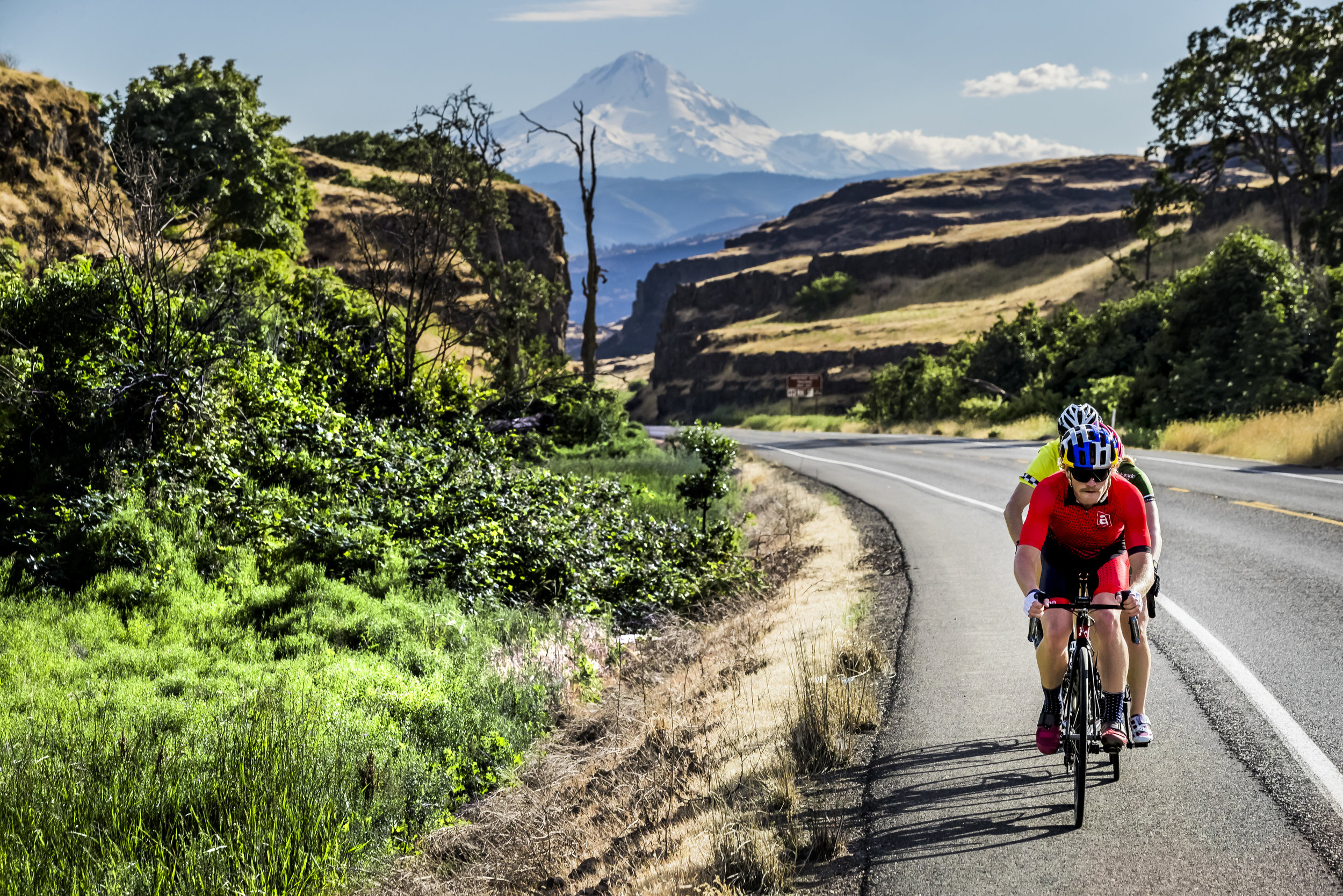 Eric Lagerstrom RedBull Triathlete. Columbia River Gorge, OR