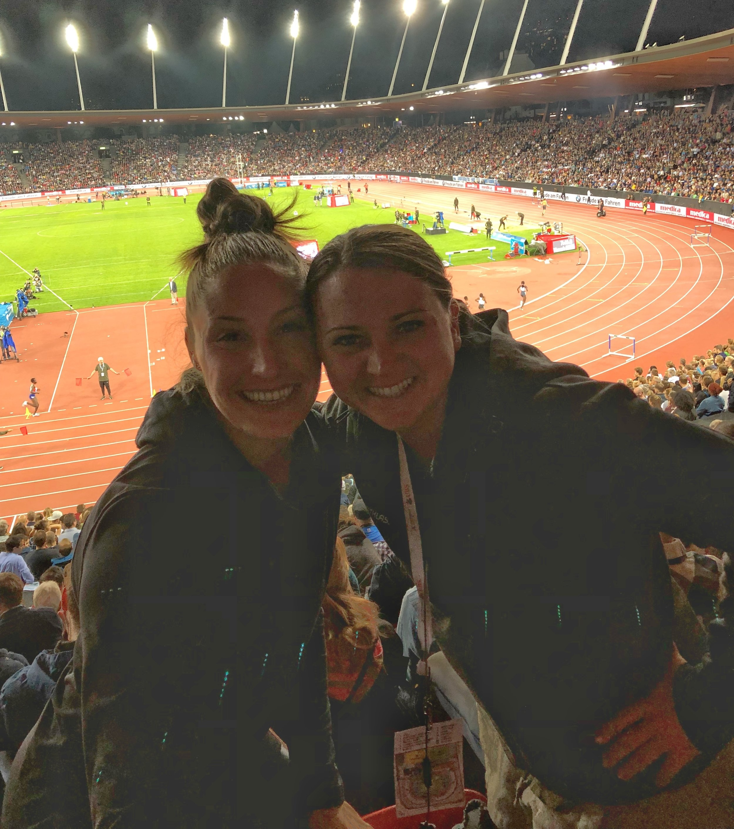 Post-2018 Diamond League Final, happy in the stands!