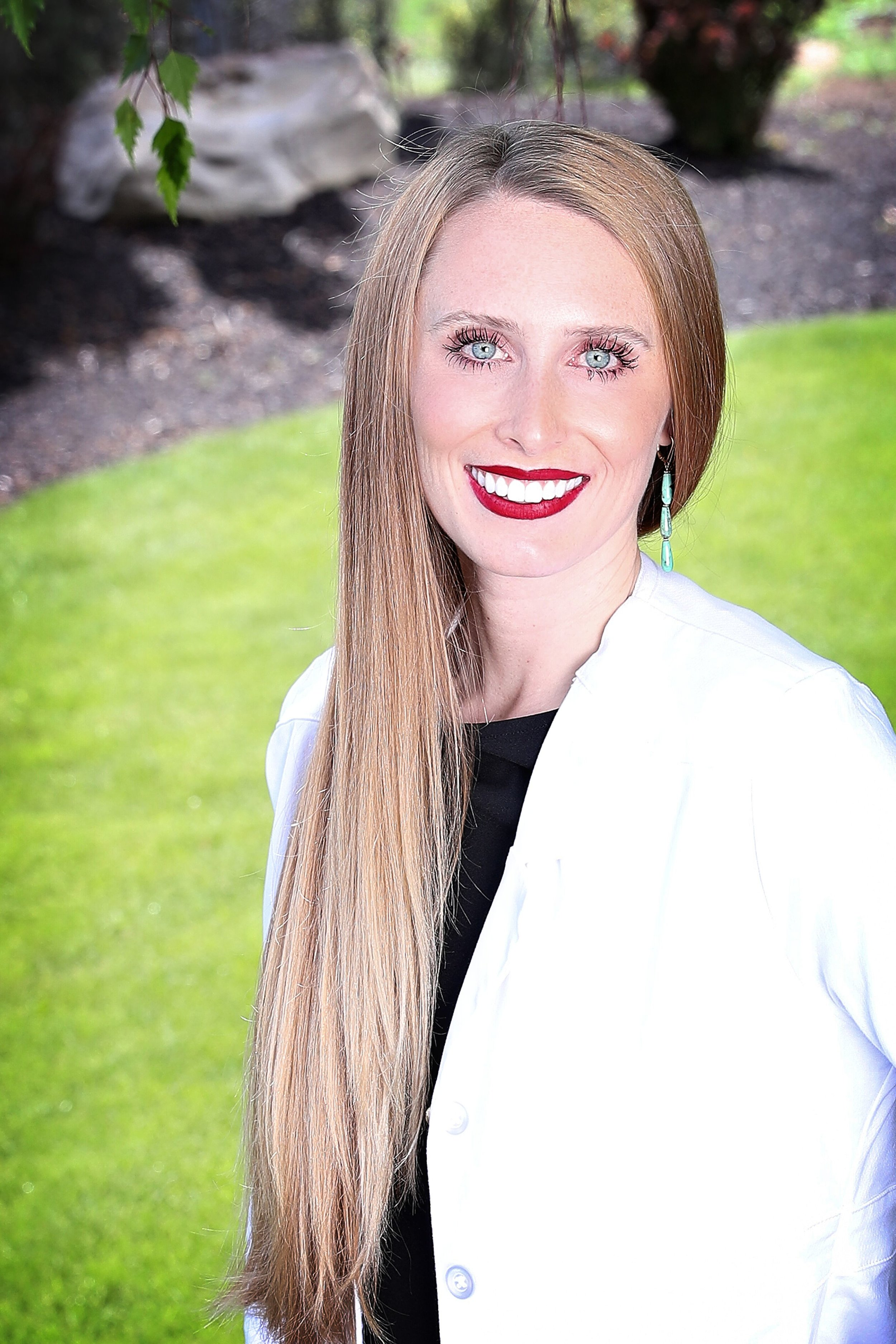 """Taylor Stockton  - Taylor is a Doctor of Nursing Practice with a focus as a Family Nurse Practitioner from Gonzaga University. Being an Oregon native she has always loved the vast activities the Northwest has to offer. Her drive for health and beauty has driven her to the aesthetic industry. """"My goal is to help my patients feel their best self at every aspect of life!"""" She is a nurse at heart and believes in treating patients in a holistic way. """"Every patient is unique and beautiful in their own way and I believe in helping treat the whole person in everything I do."""" She strives to be the best and to stay true and current to the ever-changing medical industry. Her focus is on safe practice with lovely results and blissful lasting relationships."""
