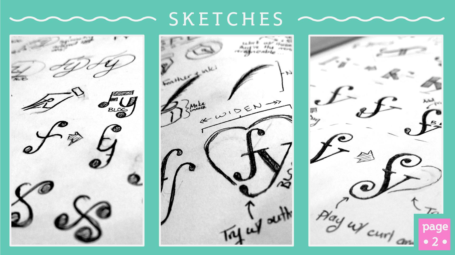 Feefe Yorka Blog Sketches - Studio 1816 Designs
