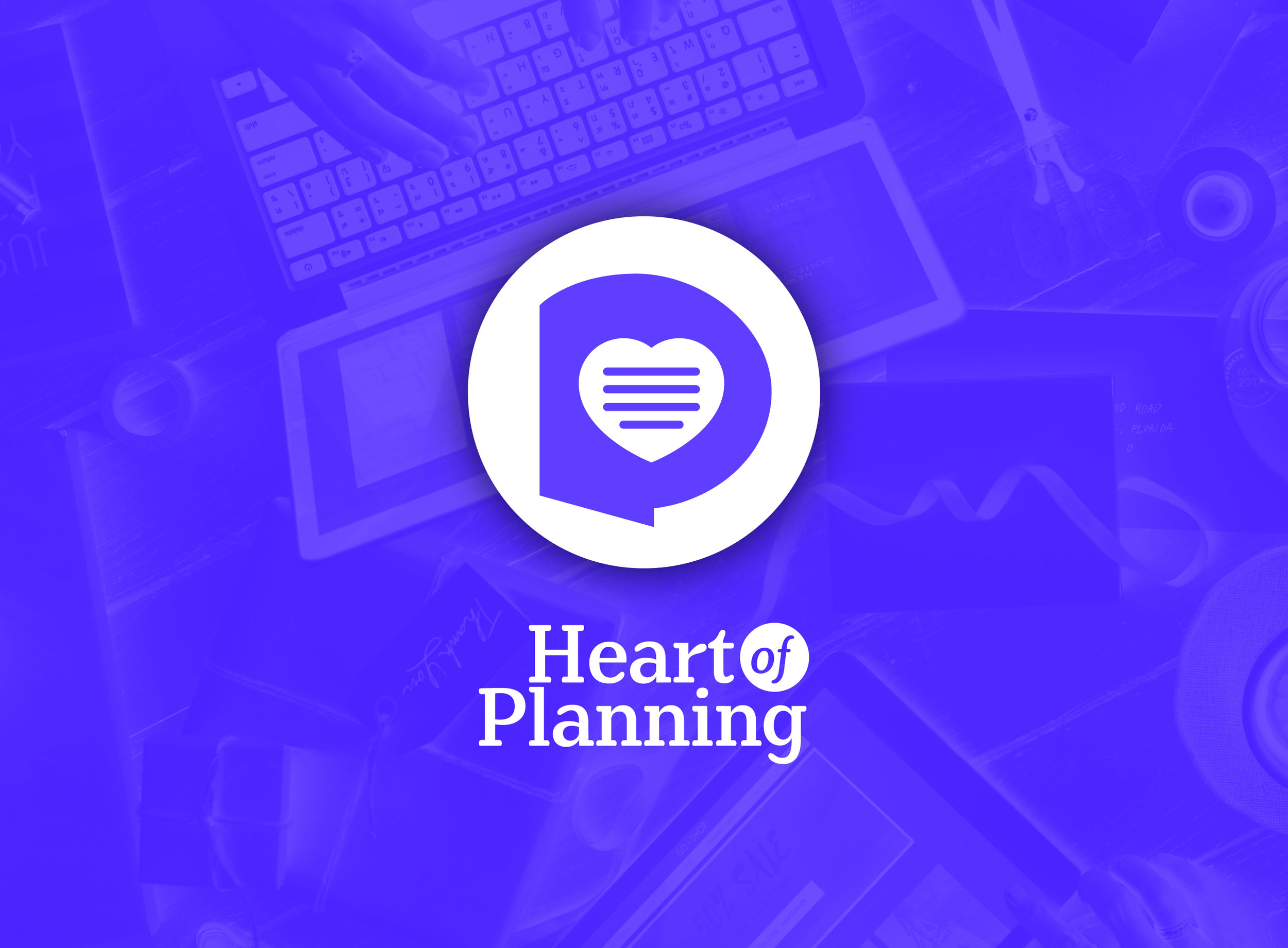 Heart of Planning App Logo Design