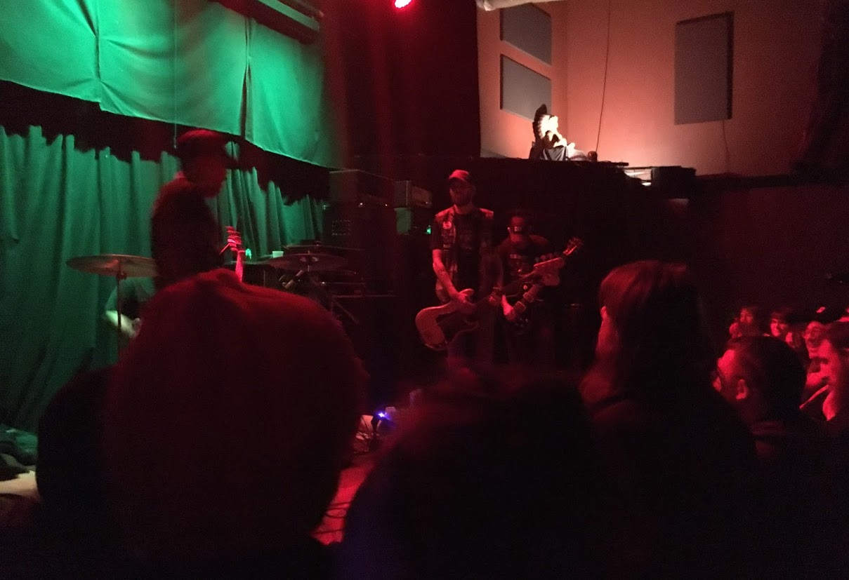 Bongzilla playing the High Noon in November 2016.