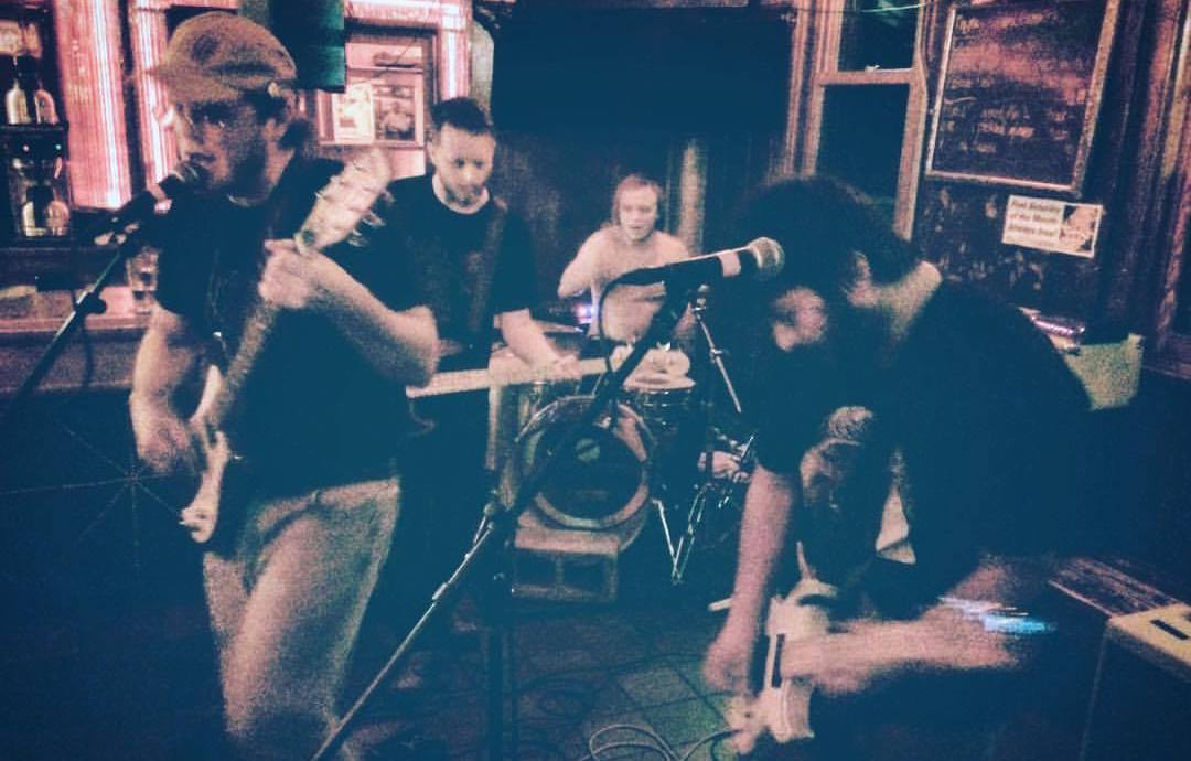 Tippy's current lineup is, from left to right: Spencer Bible, Max Arthur, Erik Fredine, and Mike Pellino. Photo by Bobby Hussy.