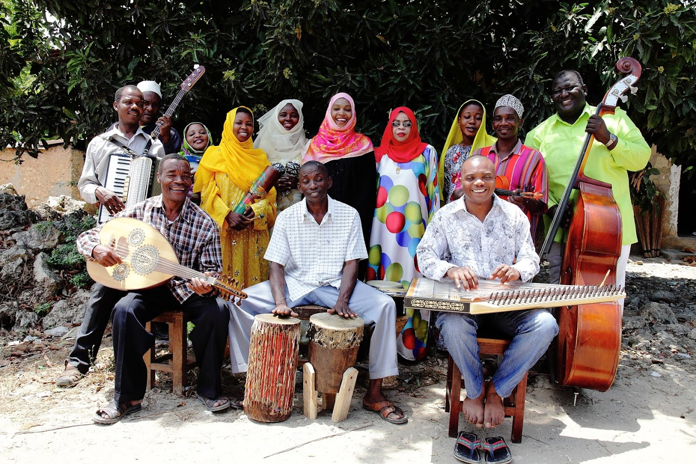 Rajab Suleiman And Kithara play September 16 at the Terrace as part of the Madison World Music Festival.