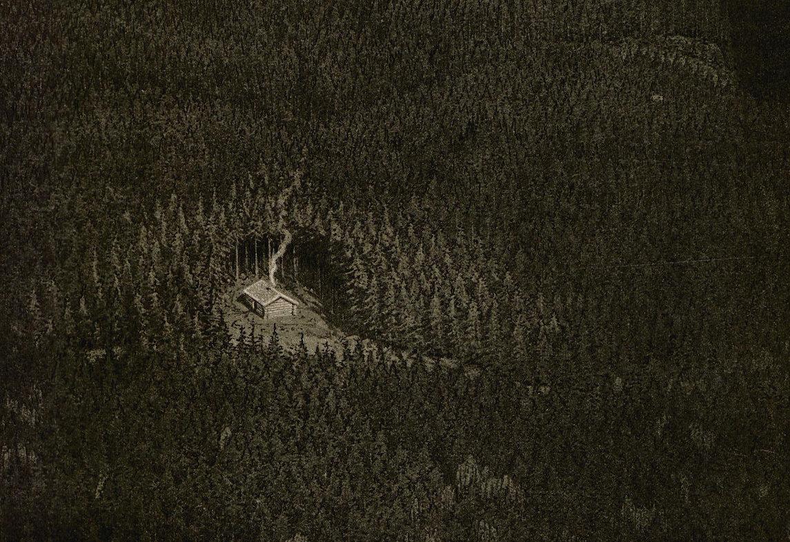 """Detail from Rettir Leinahtan  's cover art for """"Contemplations V"""""""