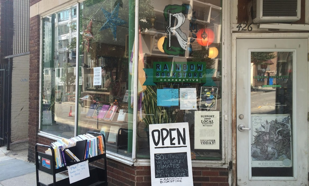 Rainbow's storefront this week at 426 W. Gilman St. Photos by Chali Pittman.