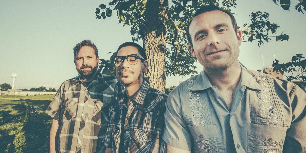 El Valiente are, from left to right, Kris Hansen, Eric Caldera, and Joe Bernstein. Photo by  Connie Ward .
