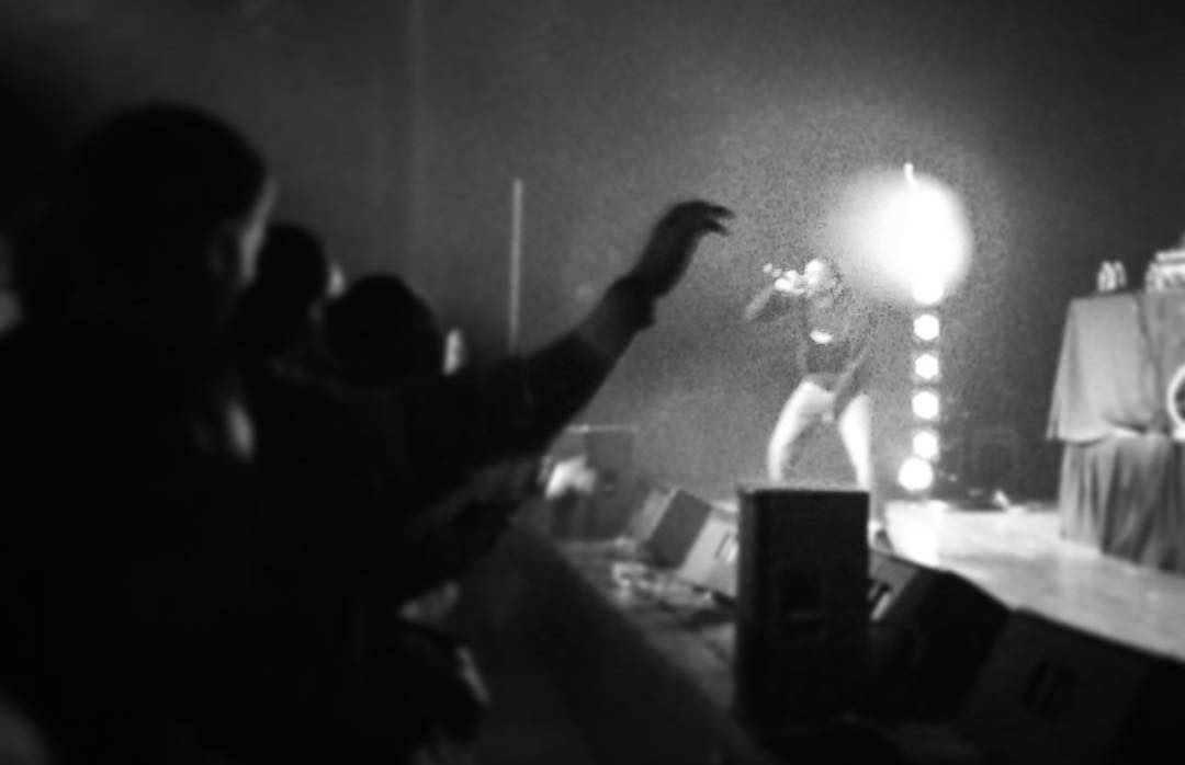 Vince Staples performing at Union South in December 2015. Photo by Scott Gordon.