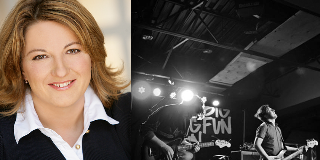 Jackie Kashian (left) plays the Comedy Club on State December 17 through 19, and Tunic plays The Wisco on December 21.