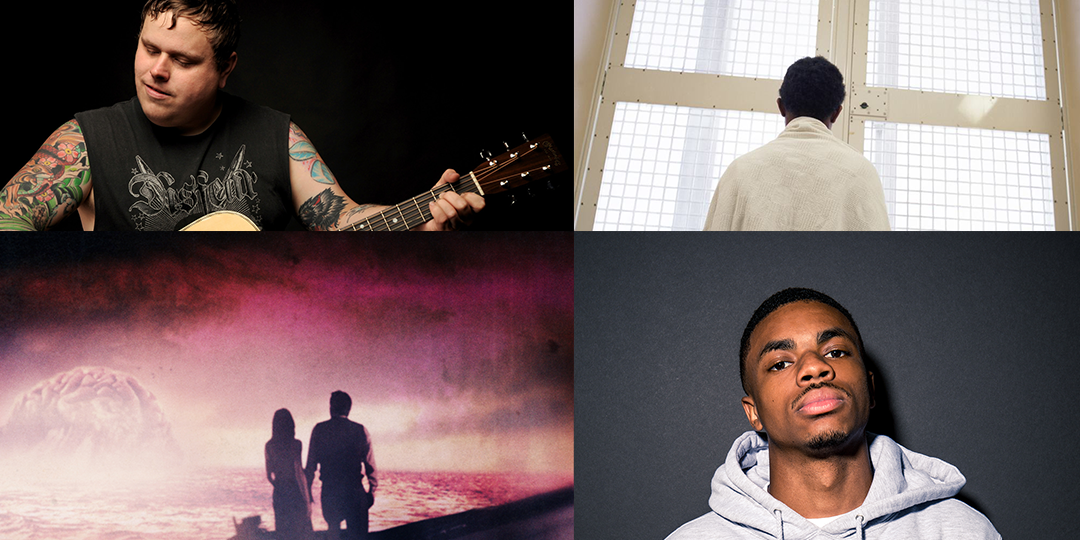 Clockwise from top left: Austin Lucas plays the High Noon on December 10, Amber Sowards' Captured debuts at the Arts + Literature Lab on December 10, Vince Staples plays a sold out show at the Sett on December 11, UW Cinematheque screens Guy Maddin's The Forbidden Room screens on December 12