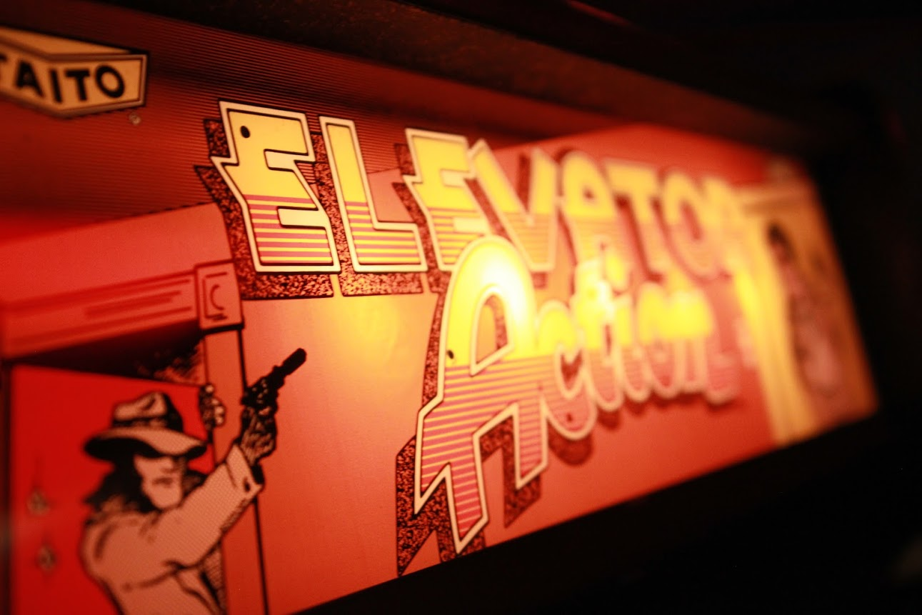 Elevator Action, Burger Time, Tempest, Discs of Tron and more make a hasty escape.