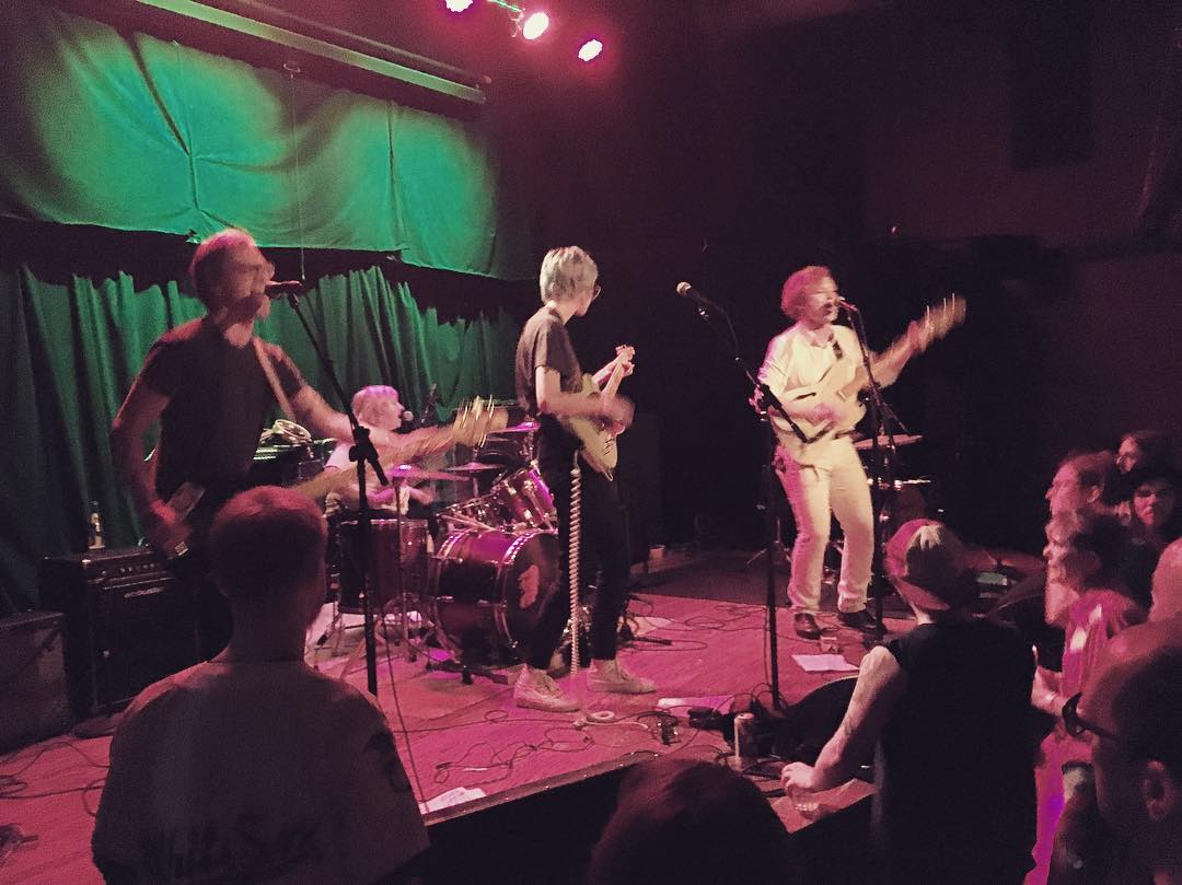 Madison band Proud Parents, opening up for Deerhoof in June at the newly Frank Productions-owned High Noon Saloon.