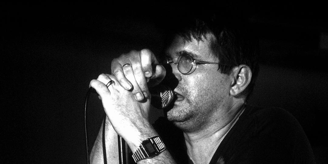 Steve Albini performing with Shellac in 2010. Photo by  Dani De La Cuesta on Flickr .